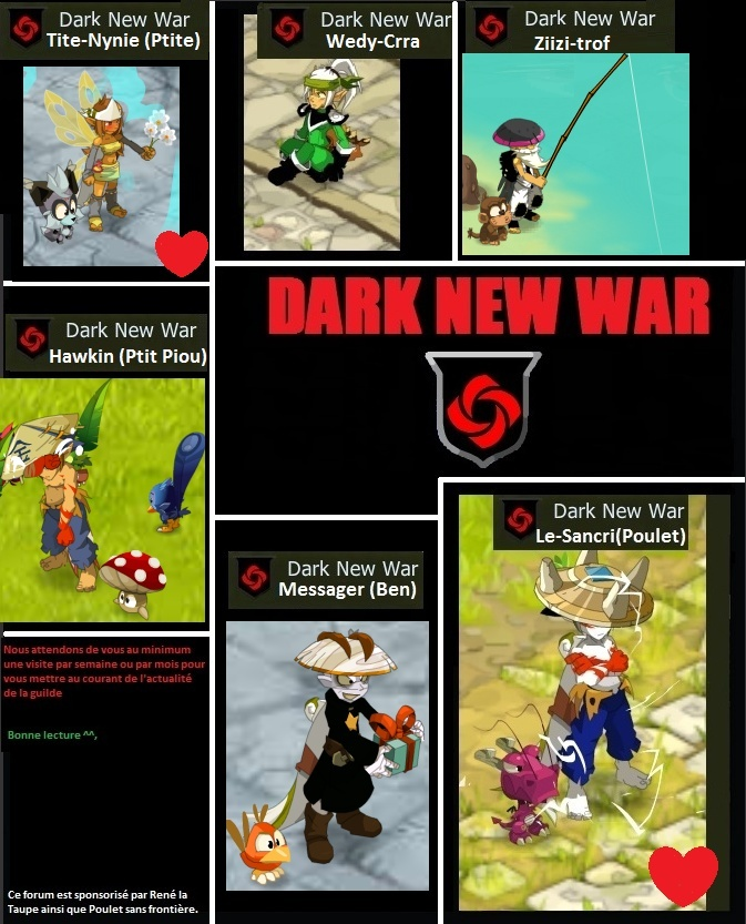 Forum de la guilde Dark New War