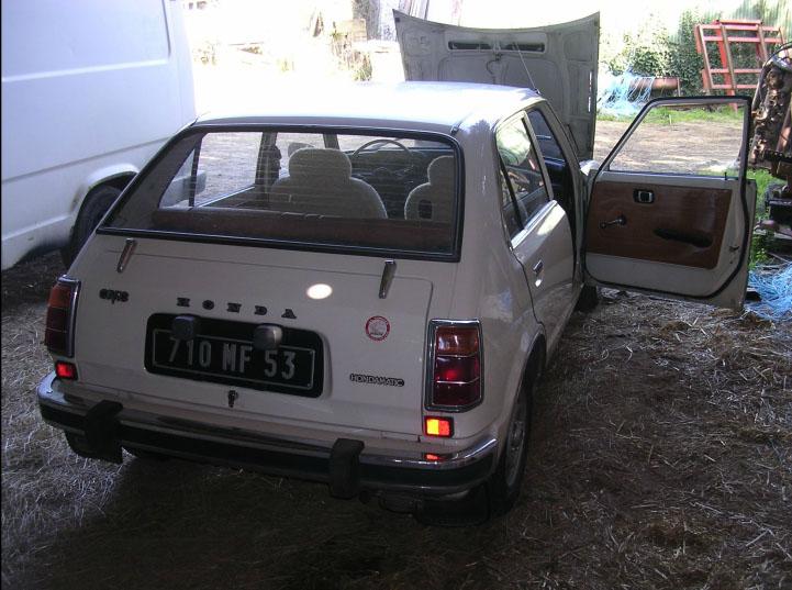 Le daily drive de Mme Felson Civic110
