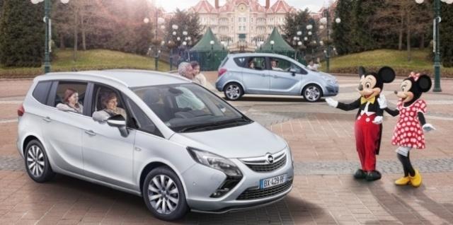partenariat Disneyland / Opel 32658310