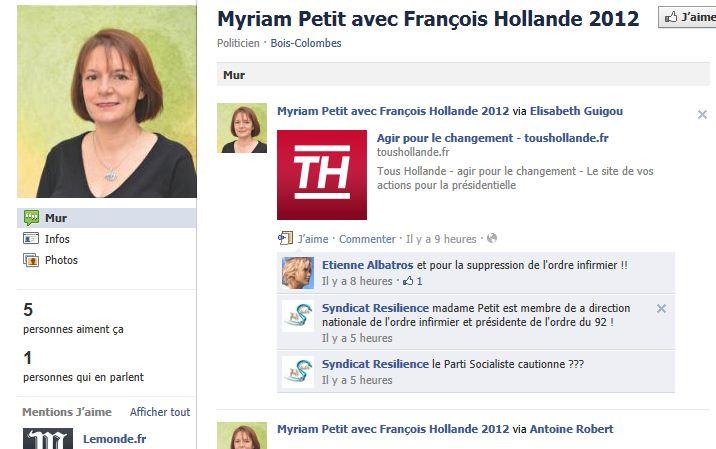 Myriam Petit avec François Hollande 2012 Mpetit11