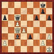 Queens, checks and passed pawns  2011br12