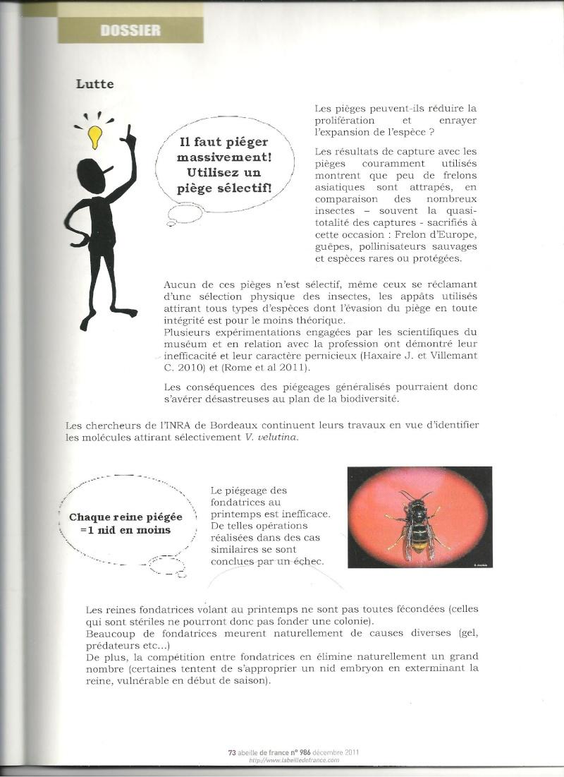 faire le tri dans les informations sur Vespa velutina nigrithorax. Frelon14