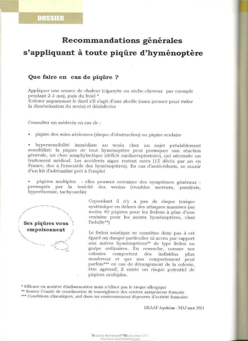 faire le tri dans les informations sur Vespa velutina nigrithorax. Frelon17