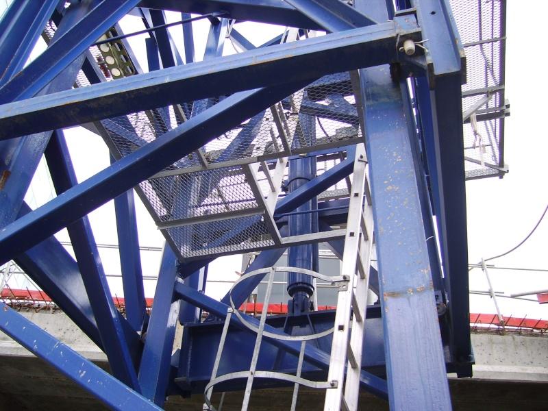 Potain MD 365 B L16 : Châssis et cage de télescopage. Imgp1226