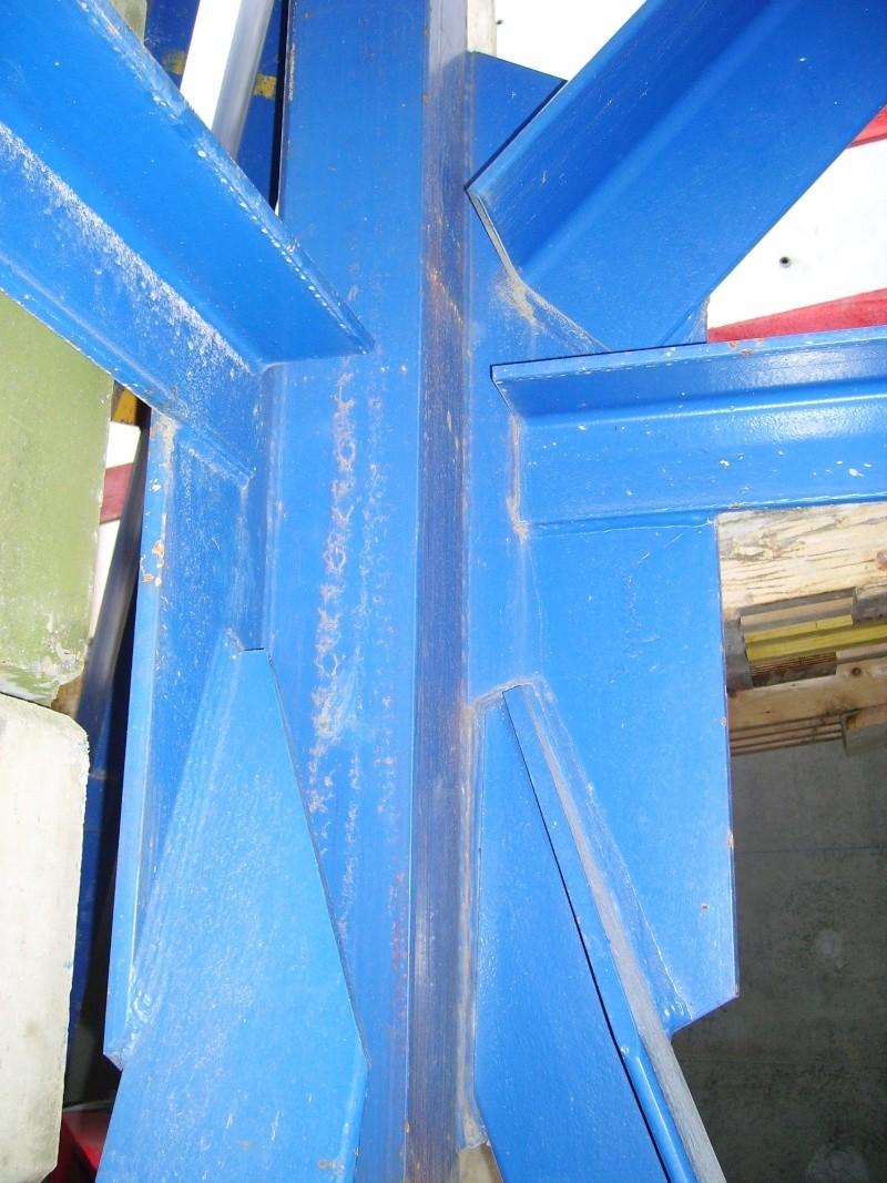 Potain MD 365 B L16 : Châssis et cage de télescopage. Imgp1227