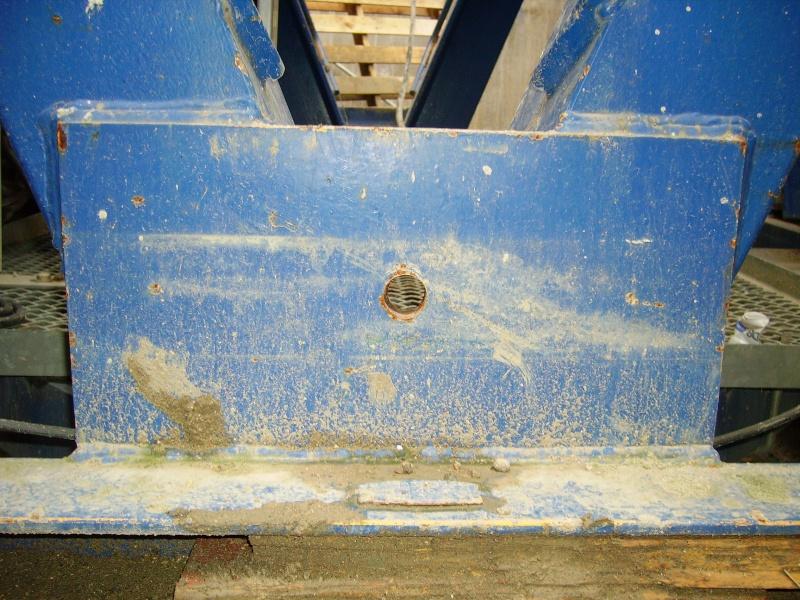 Potain MD 365 B L16 : Châssis et cage de télescopage. Imgp1229
