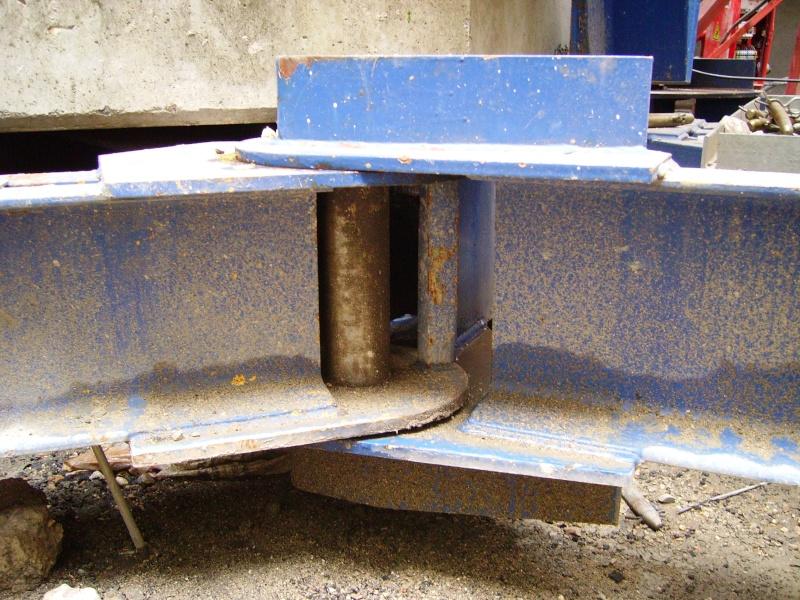 Potain MD 365 B L16 : Châssis et cage de télescopage. Imgp1236