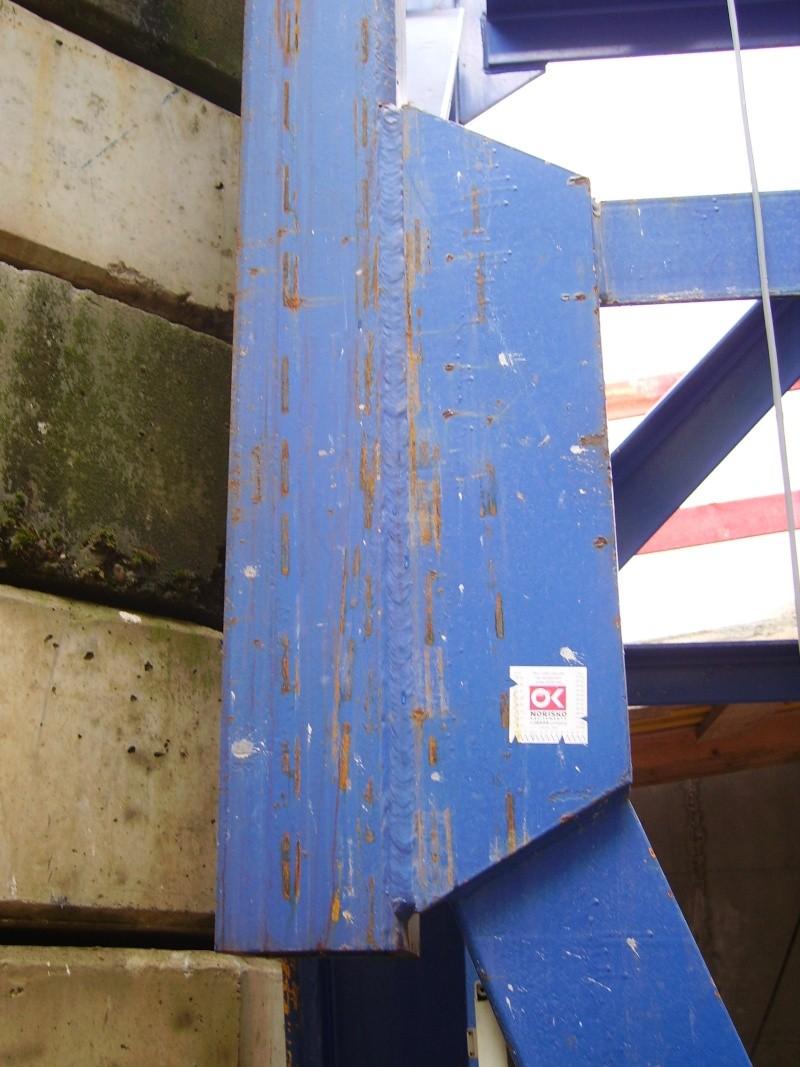 Potain MD 365 B L16 : Châssis et cage de télescopage. Imgp1237