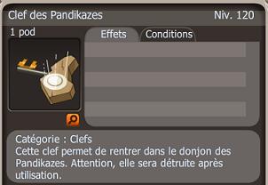 Donjon Pandikaze ! Clef10