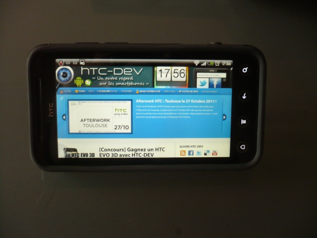 [MOBILEFUN.FR] Test de la coque Case-Mate Pop noir/grise pour HTC EVO3D P1040418