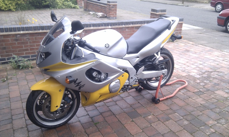 Finally ready for an MOT....... Imag0314