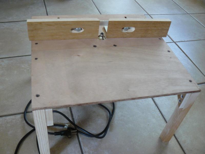 Petite table de défoncage P1130416