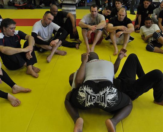 stage de MMA avec Bertrand Amoussou Dijon Le-sta10