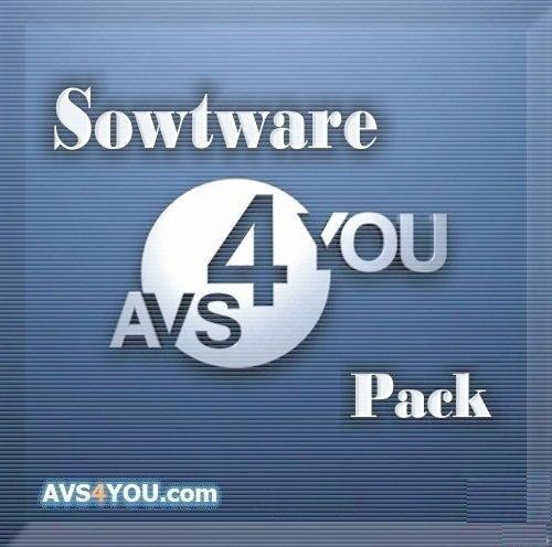 AVS software Pack..  120