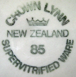 What do the numbers on Vitrified and Supervitried ware represent?  Answer - The Year made! 85_din10
