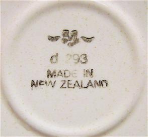 No Name d293 saucer - belongs to Heritage d293 Cl_bs_13