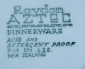 Roydon AZTEC backstamp Img_1419