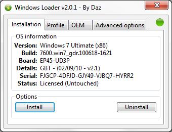 windows 7 home premium and professional direct download + loader to make it genuine Loader10
