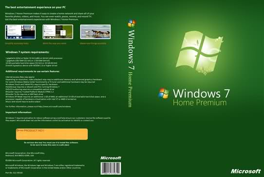 windows 7 home premium and professional direct download + loader to make it genuine Nfgx7710