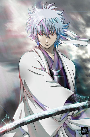 Gintoki Sakata, The Silver-Haired Devil (Finished) Gin_210