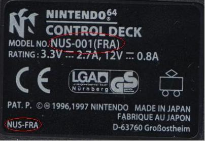 [VDS] N64 PAL avec RGB MOD ou modifie votre propre console ! French10