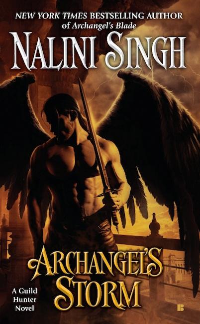 Chasseuse de vampires - Tome 5 : La tempête de l'Archange de Nalini Singh Archan11