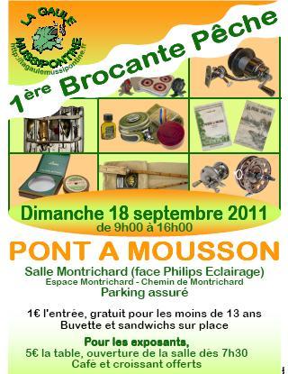 Brocante de Peche à Pont à Mousson Affich10