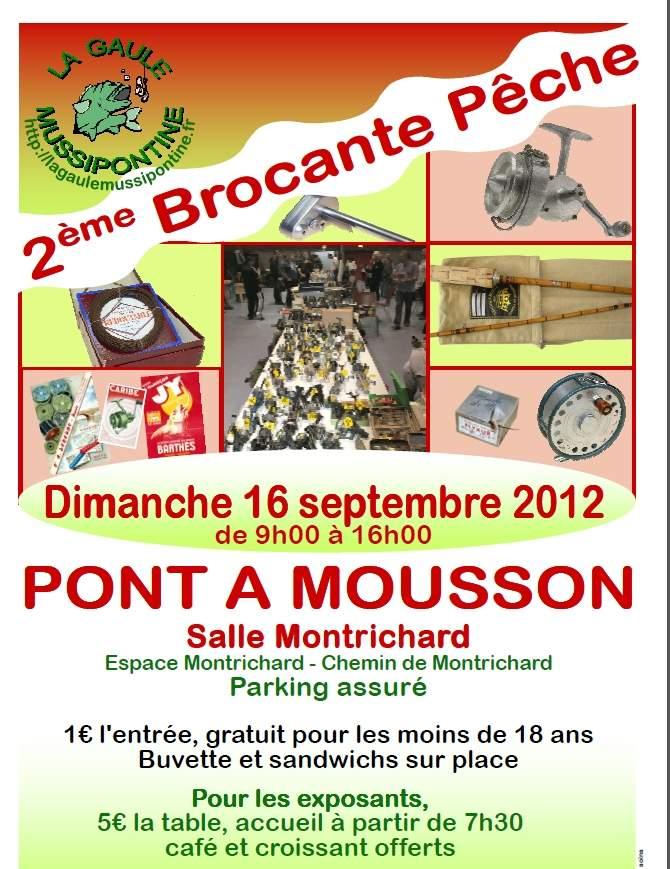 Brocante de Pêche à Pont à Mousson Affich11