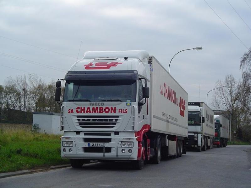Chambon (Saint Germain Laprade 43)(groupe Multi Transports) I30310