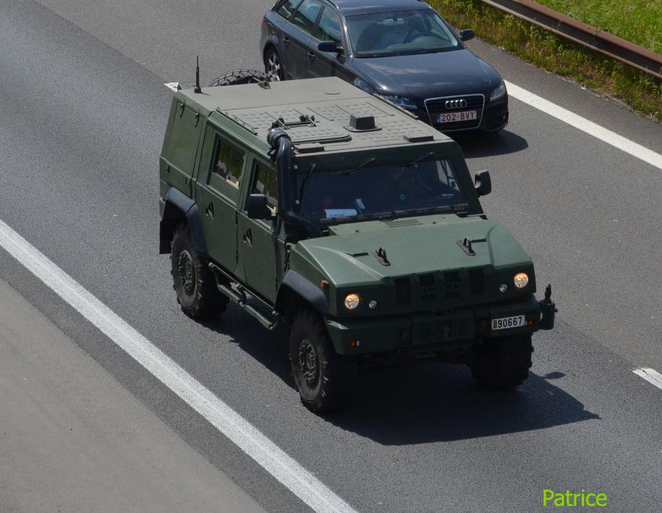 Véhicule de l'armée belge Iveco_11