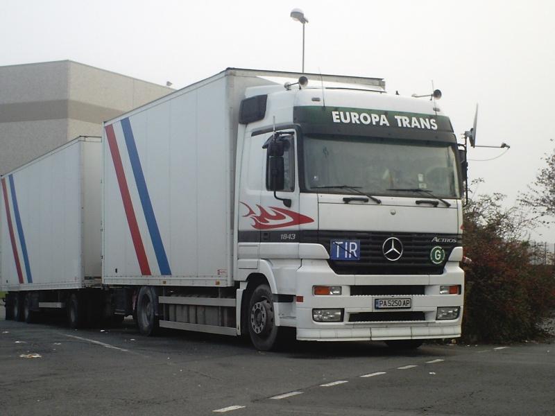 Europa Trans (Pazardzhik) Me361010