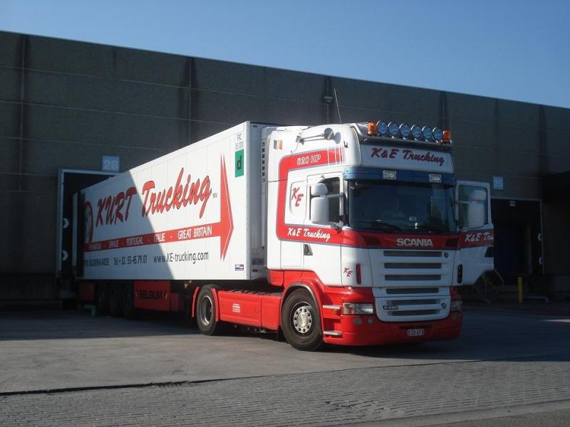 K & E Trucking - Cool Traffic - Kurt Trucking  (Oudenaarde) Photo817