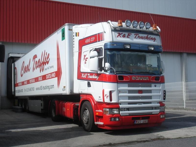 K & E Trucking - Cool Traffic - Kurt Trucking  (Oudenaarde) Photo916
