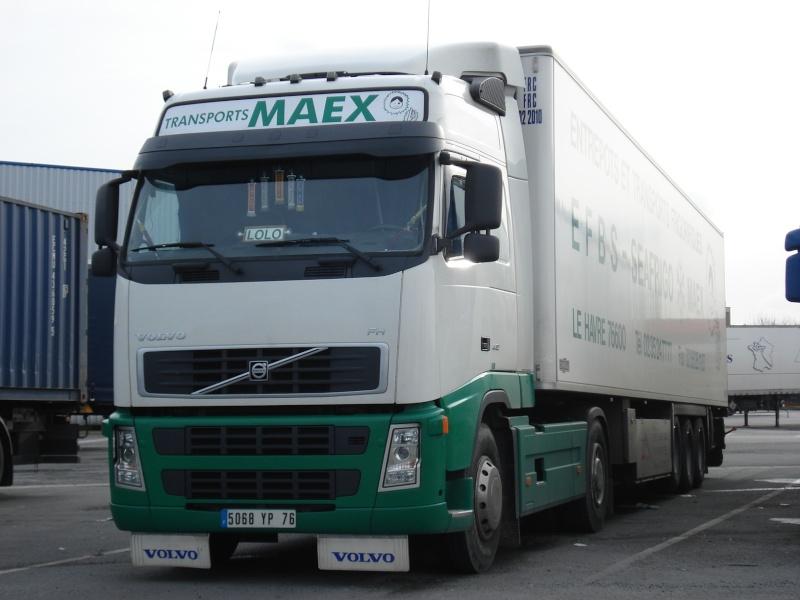 Transports Maex (groupe Condigel) (Le Havre 76) Vo337110