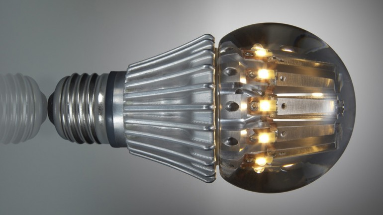 World's first 100 watt equivalent LED replacement bulb 100we-11