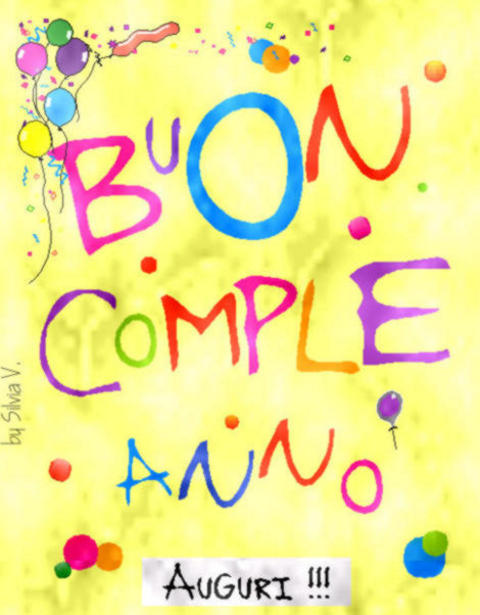 BUON COMPLEANNO GIUSEPPE CHIARAMIDA 20110139