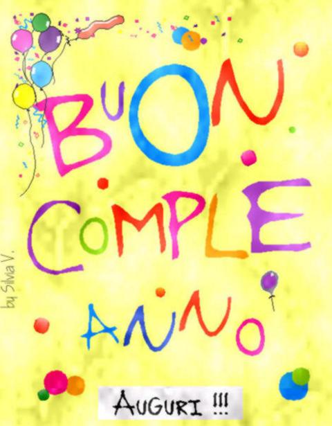BUON COMPLEANNO CIOPPERINA 20110145