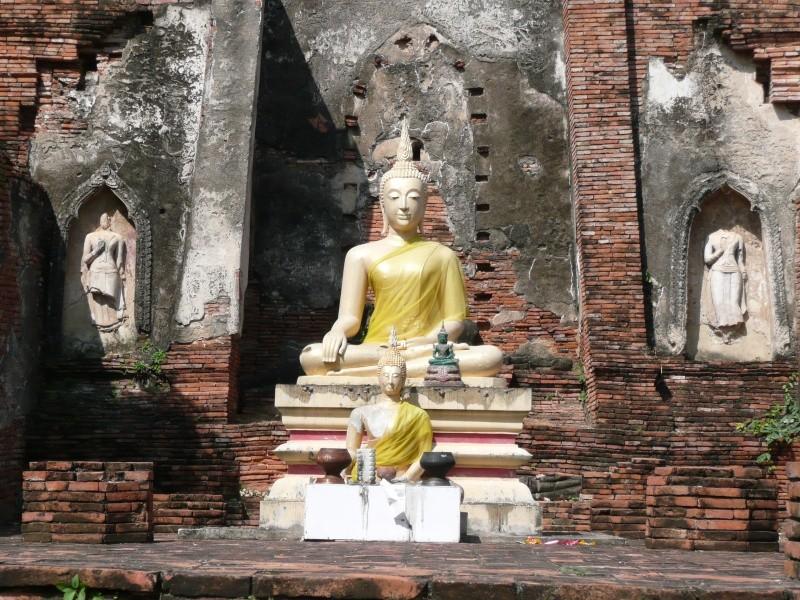 Le geste de la prise de la terre à témoin : bhûmispashamudrâ P1010511