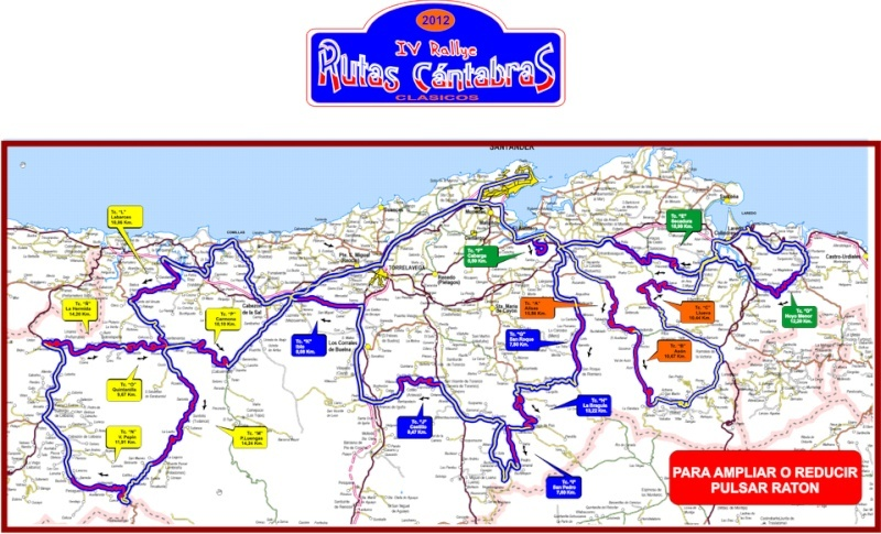 Rallye Rutas Cántabras 2012 Mapa10