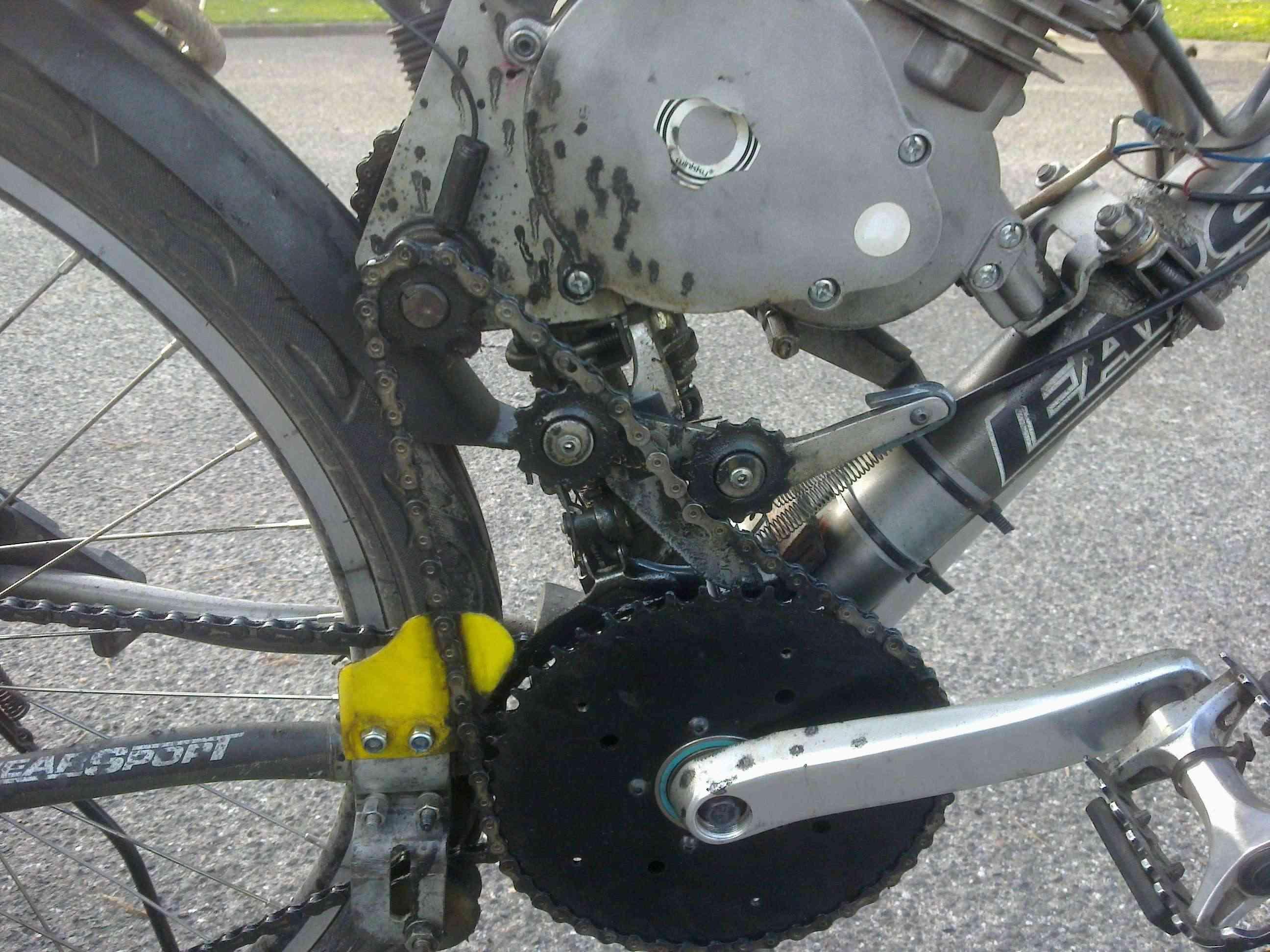 Tetra Chainwheel system for SickBikeparts (Sick Bike Parts, SBP) shift kit 30062010