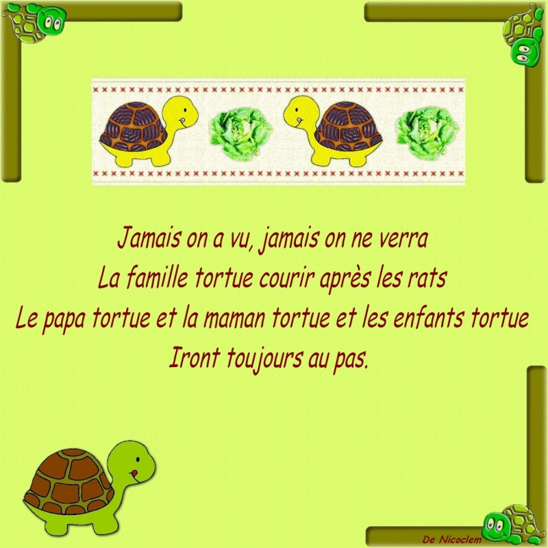 Mes illustrations comptines et chansons Famill12