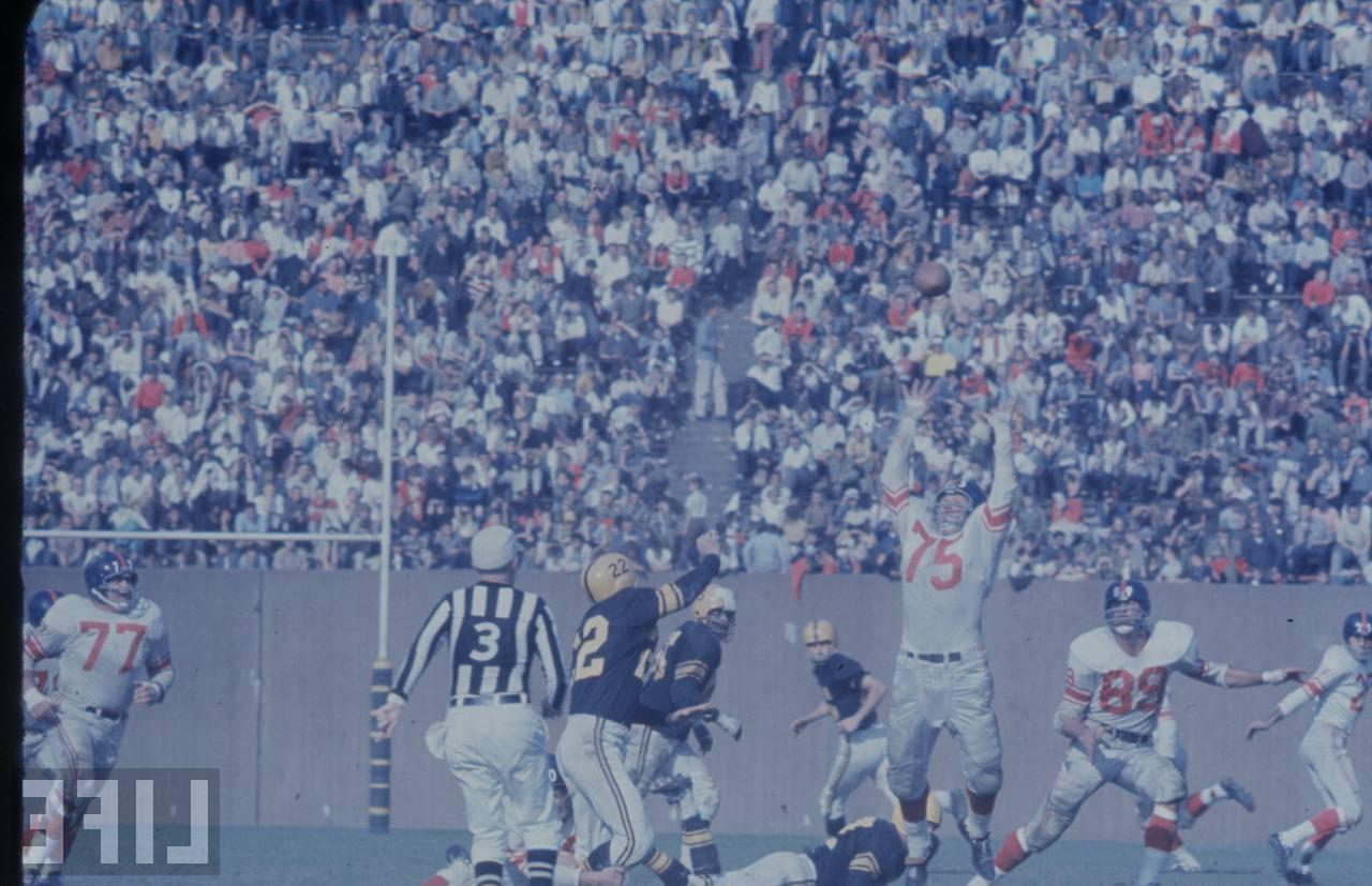 NFL Officials cuffs and 1994 armband issues  Giants10