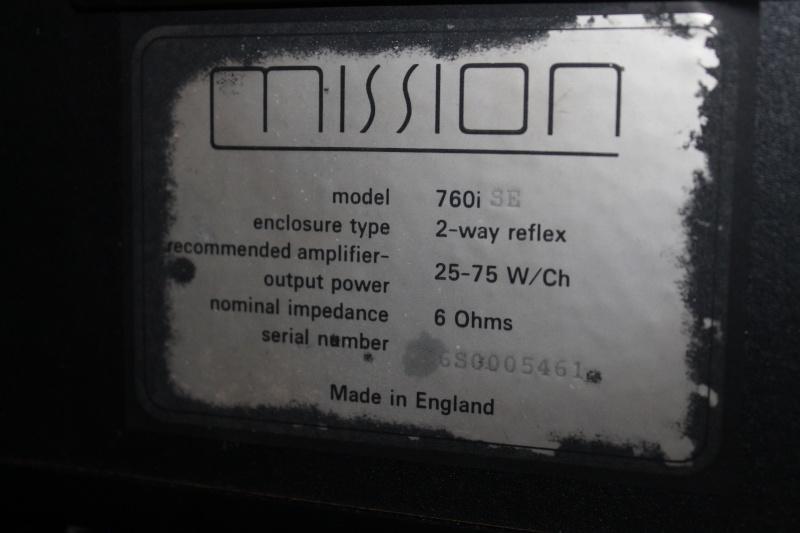 Mission 760i Bookshelf Speakers (Used)(SOLD) Img_3815