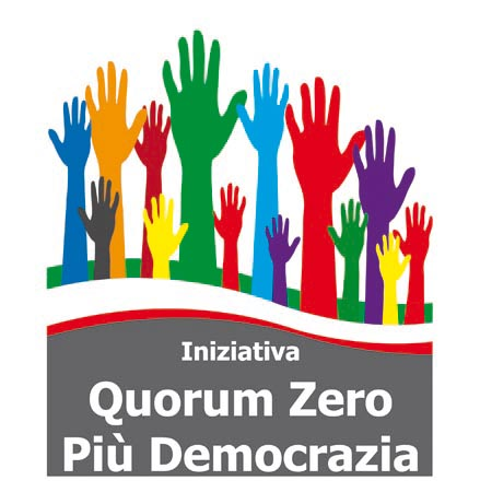progettazione logo e immagini per Iniziativa Quorum Zero e Più Democrazia 2212
