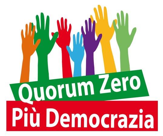 progettazione logo e immagini per Iniziativa Quorum Zero e Più Democrazia 3310