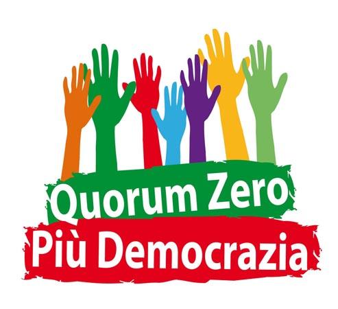 progettazione logo e immagini per Iniziativa Quorum Zero e Più Democrazia 4410