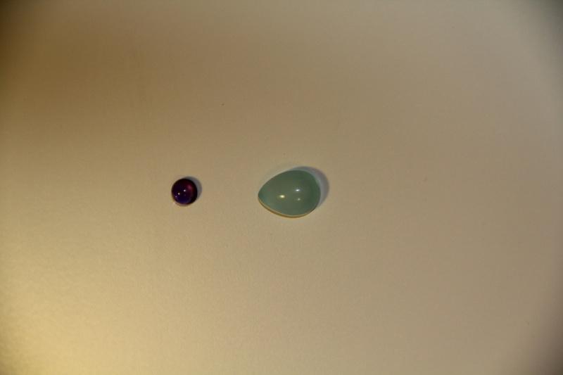 Pendentif quartz rose et tourmaline rose. Img_2210