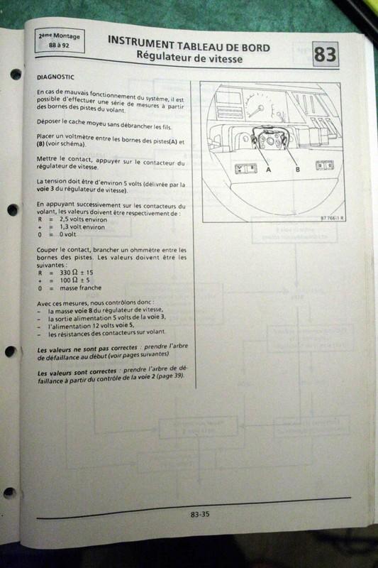 Régulateur de vitesse sur GTX Bva Rgulat13