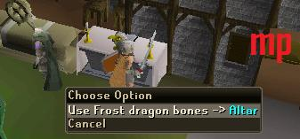 Frost Dragons Best Prayer Xp Guide Dragon12