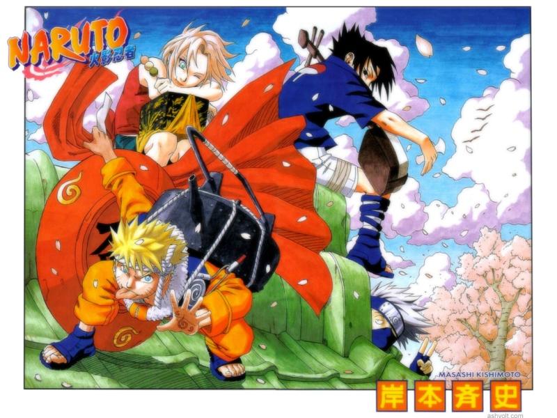 Naruto, de Masashi Kishimoto Team_710
